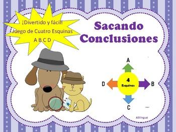 Sacando Conclusiones Game & Activity