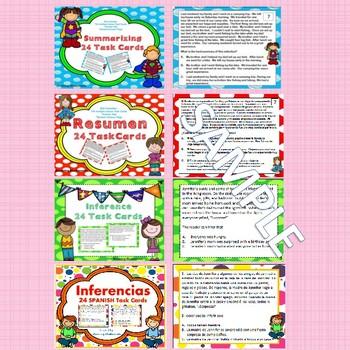 Sacando Conclusiones-Inferencia-Idea Principal-Resumen-Dual Language- Bundle