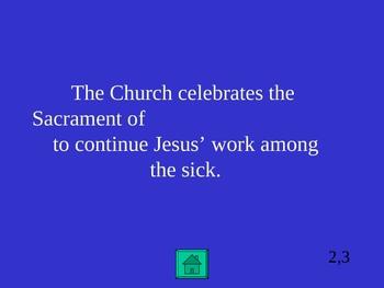 Sacrament Jeopardy!