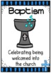 Sacrament Posters ~ Baptism, Eucharist, Confirmation and more