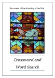 Sacrament of Anointing of the Sick - Crossword Puzzle Word Search Bell Ringer