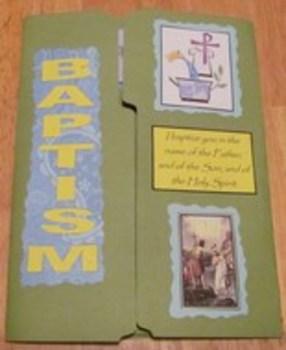 Sacrament of Baptism Catholic Lapbook