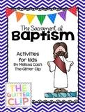 Sacrament of Baptism Lap Book