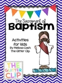 Sacrament of Baptism Lap Book