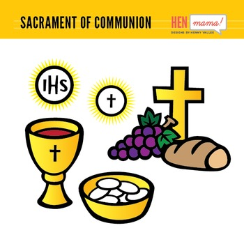 Sacrament of Communion Clip Arts