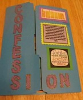 Sacrament of Confession Catholic Lapbook