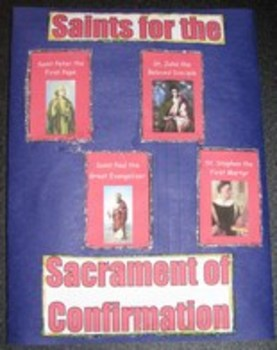 Sacrament of Confirmation Catholic Lapbook