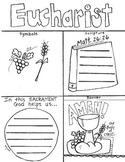 Catholic - Sacrament of Eucharist Holy Communion printable