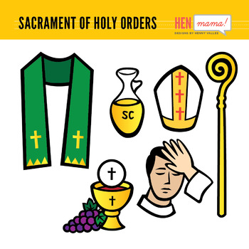 Sacrament of Holy Orders Clip Arts