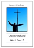 Sacrament of Holy Orders - Crossword Puzzle & Word Search Bell Ringer