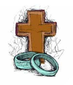 Sacrament of Matrimony Clip Art