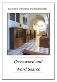 Sacrament of Penance and Reconciliation Crossword Puzzle Word Search Bell Ringer