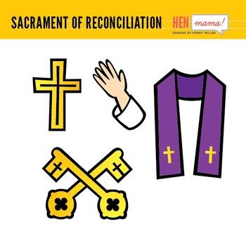 Sacrament of Reconciliation/Confession Clip Art
