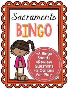 Sacraments Bingo
