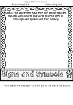 Sacrament Lap Flip Book - Signs & Symbols, Jesus, My Experience and more