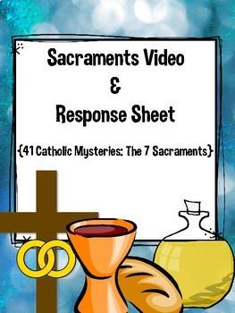Sacraments Response Page