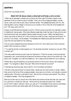 Sacraments of Healing Activties
