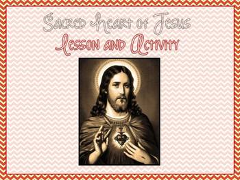 Sacred Heart of Jesus Lesson and Activity