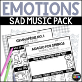 CLASSICAL MUSIC - Emotions in Music, Sad Listening Activities