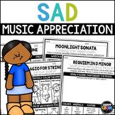 Emotions in Music, Sad Listening Activities, Classical Music