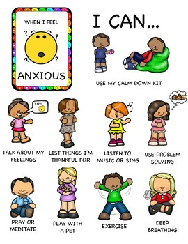 Coping with Sad, Mad, Scared, and Anxious Feelings Bundle