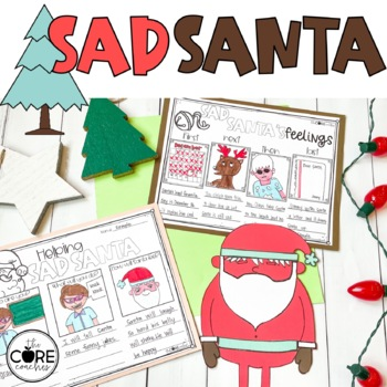 Sad Santa Read-Aloud Activity