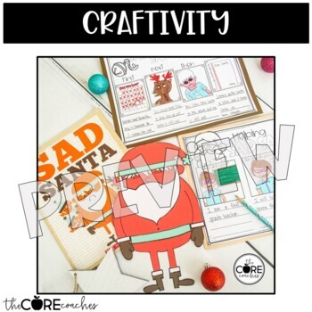 Sad Santa: Interactive Read-Aloud Lesson Plans and Activities