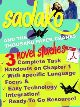 Sadako Task Design - 3 Task Handouts *Real Time Saver-Just Print!