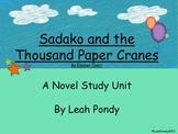 Sadako and the Thousand Paper Cranes Activities