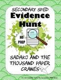 Sadako and the Thousand Paper Cranes Evidence Hunt - No Pr