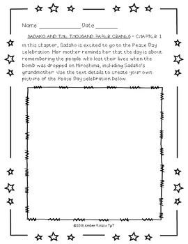 Sadako and the Thousand Paper Cranes Literature Guide (Common Core)