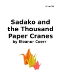 Sadako and the Thousand Paper Cranes Novel Study