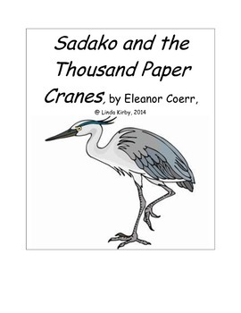 Sadako and the Thousand Paper Cranes, Reading and Writing