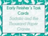 Sadako and the Thousand Paper Cranes Task Cards