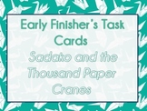 Sadako and the Thousand Paper Cranes Task Cards