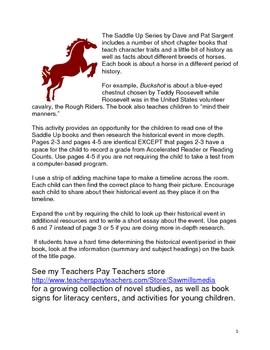 Saddle Up Series History Timeline