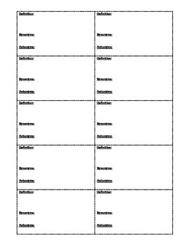 Sadlier-Oxford 2005 Level F Visual Flashcards - Unit 1