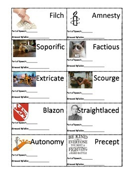 Sadlier-Oxford 2005 Level F Visual Flashcards - Unit 5