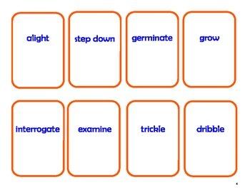 Vocabulary Workshop Level B, Unit 1 Synonym Go Fish