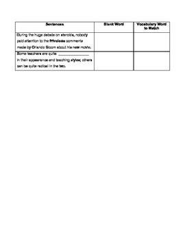 Sadlier-Oxford, Level C Unit 4 Prediction w/ a Twist