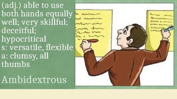 Sadlier Oxford Level E Unit 1 Vocabulary Powerpoint