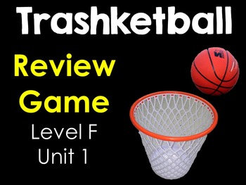 Sadlier-Oxford Level F Vocabulary:  Unit 1 Review Game