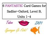 Vocabulary Workshop Card Game Bundle, Level B (Units 1-4)