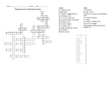 Sadlier Oxford Vocabulary Level B Unit 3 Crossword