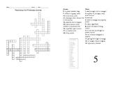 Sadlier Oxford Vocabulary Level B Unit 5 Crossword