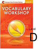 Sadlier-Oxford Vocabulary Level D Tests
