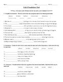 Sadlier-Oxford Vocabulary Workshop Level B Unit 4 Test