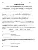 Sadlier-Oxford Vocabulary Workshop Level B Unit 8 Test