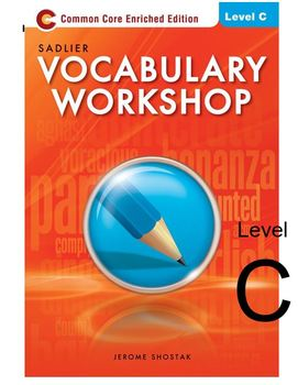Sadlier-Oxford Vocabulary Workshop Level C Assessments