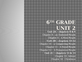 Sadlier Publishing We Believe Grade 6 Unit 2 Power Point